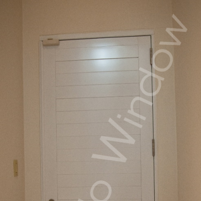 Ultra Flush Aluminum Doors