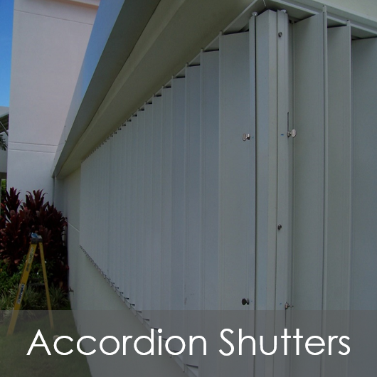 CW Accordion Shutters