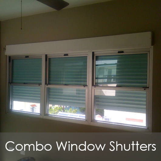 CW Combo Window Shutters