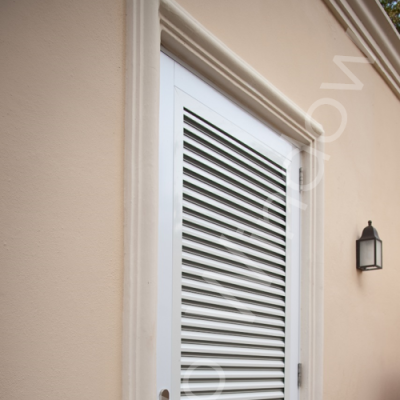 Ultra Louvered Door