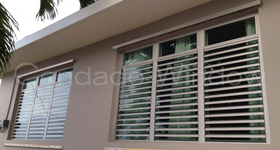 Double Hung Window Security Bar : Security windows condado window